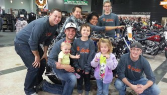 Bikes and Babes Rally for Miracles